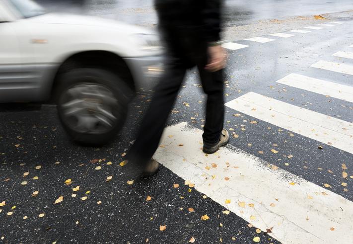 Pedestrian Injury Logo