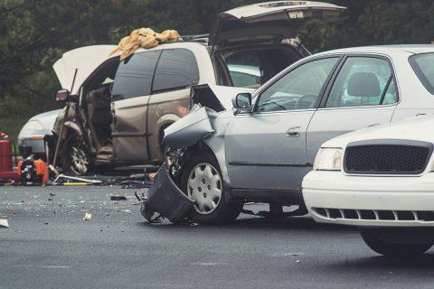 3-car wreck